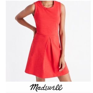 Madewell Afternoon Stretch Fit and Flare Dress